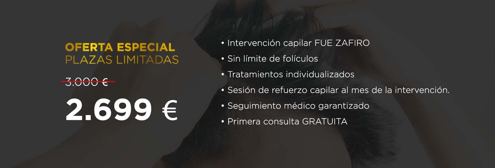 Élite Medical Madrid Oferta FUE Zafiro