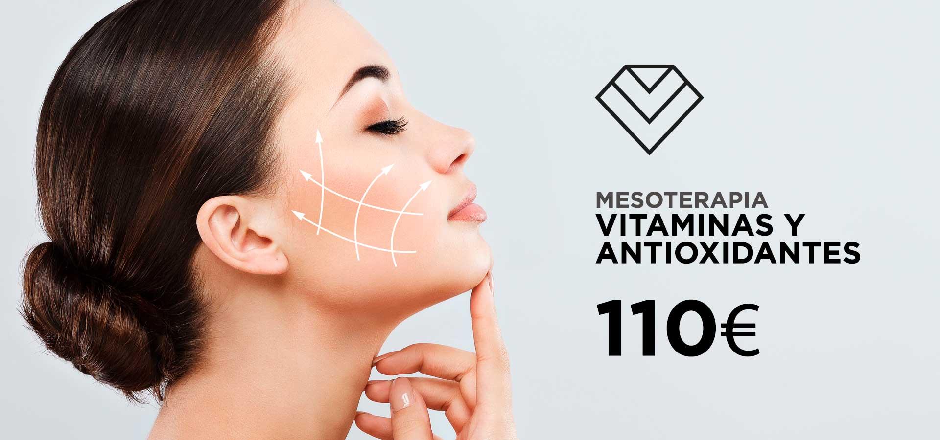 Ofertas medicina estética Mesoterapia Vitaminas y antioxidantes