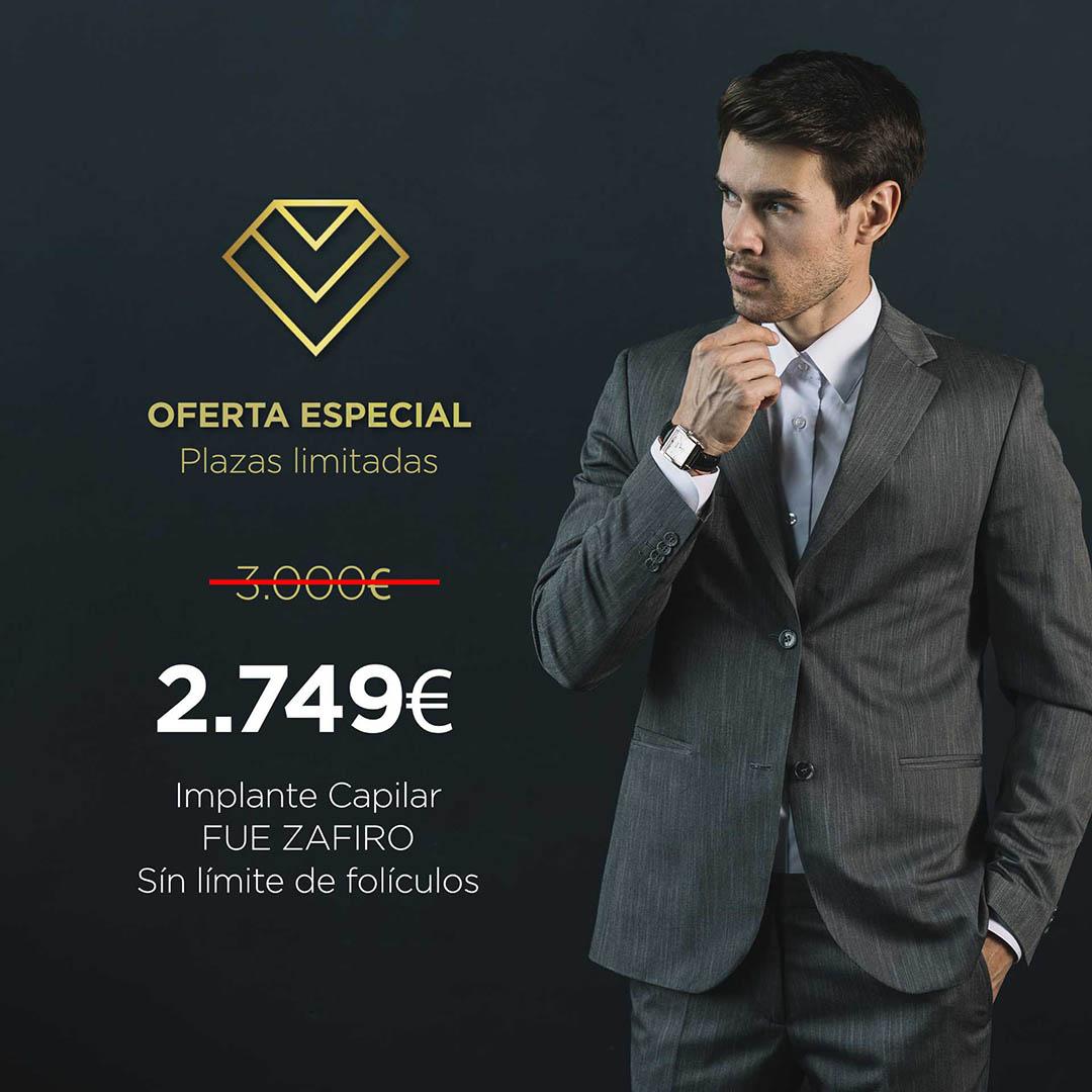 Élite Medical Madrid Oferta FUE Zafiro Básico