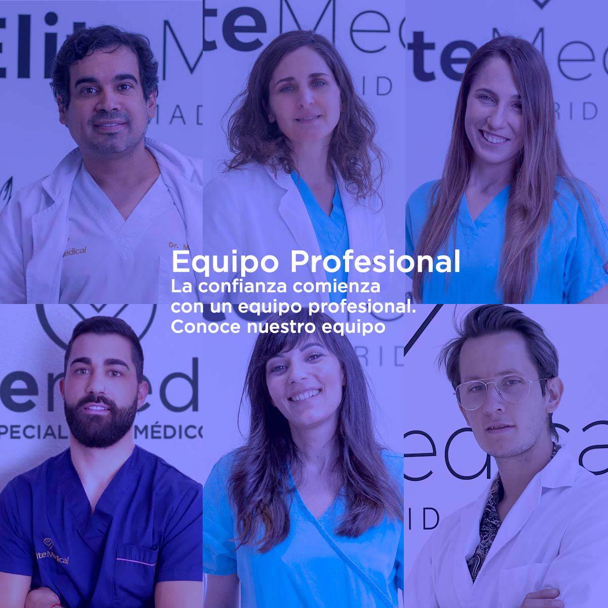 Equipo Profesional en Élite Medical Madrid